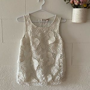 2 for 25$ Lace front sleeveless top